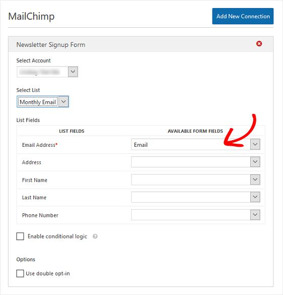 Final MailChimp Settings