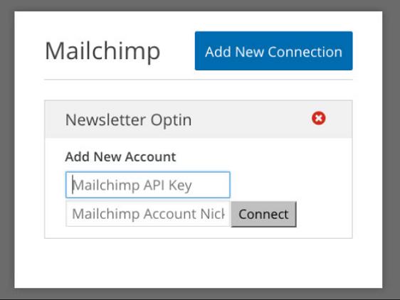 MailChimp API Key on WPForms